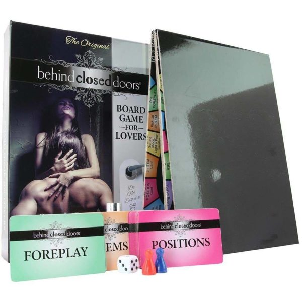 behind closed doors board game for lovers set