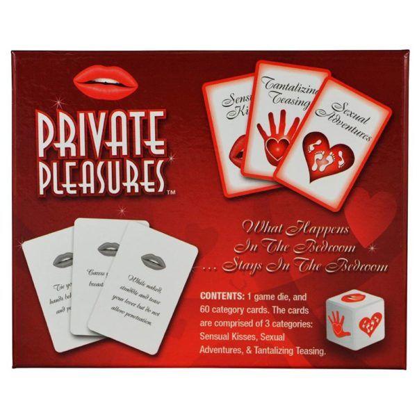 private pleasures game cards and dice