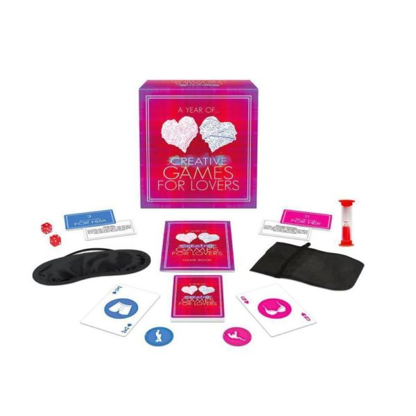 year of creative games for lovers sexy gift