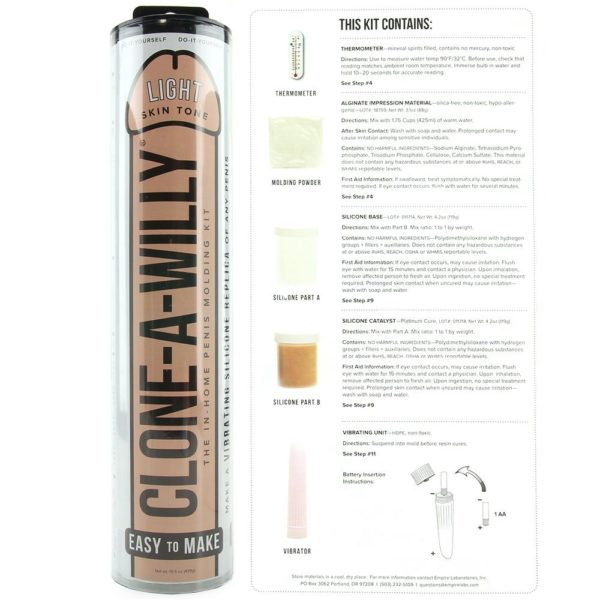 clone a willy vibrator kit info