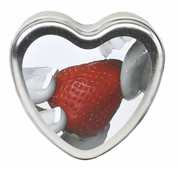 earthly body edible strawberry candles