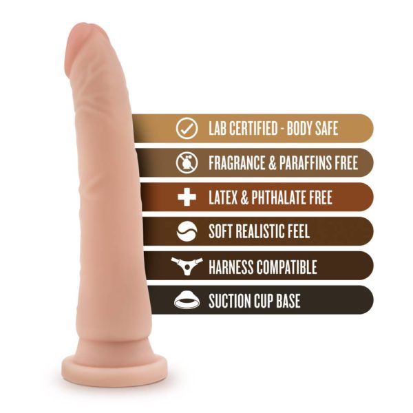 Dr Skin Basic Realistic Cock with Suction Cup