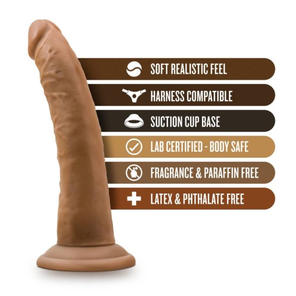 """Dr. Skin 7"""" Realistic Cock with Suction Cup"""