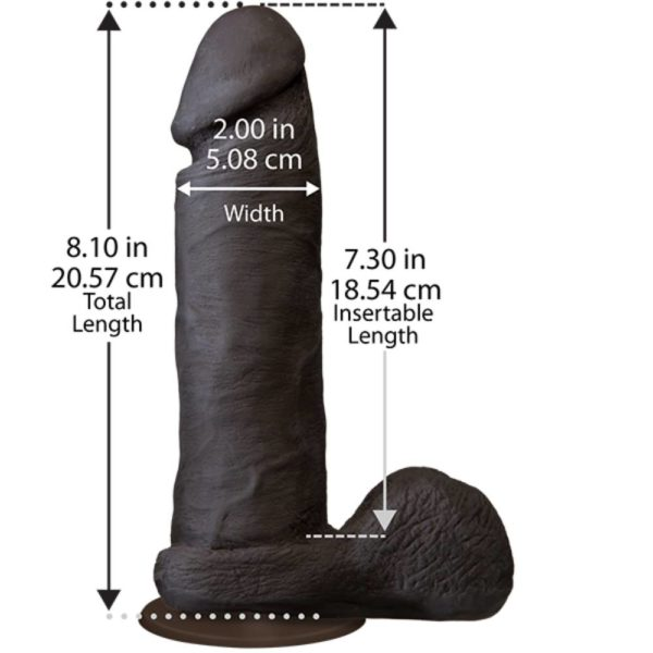 The Realistic UR3 8 Inch Cock