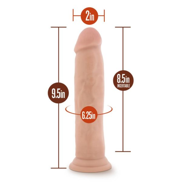 Dr Skin Realistic Cock with Suction Mount Base